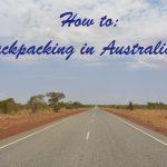 Backpacken in Australië: zo doe je dat!