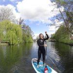 Toerist in eigen stad: SUP-boarding in Utrecht
