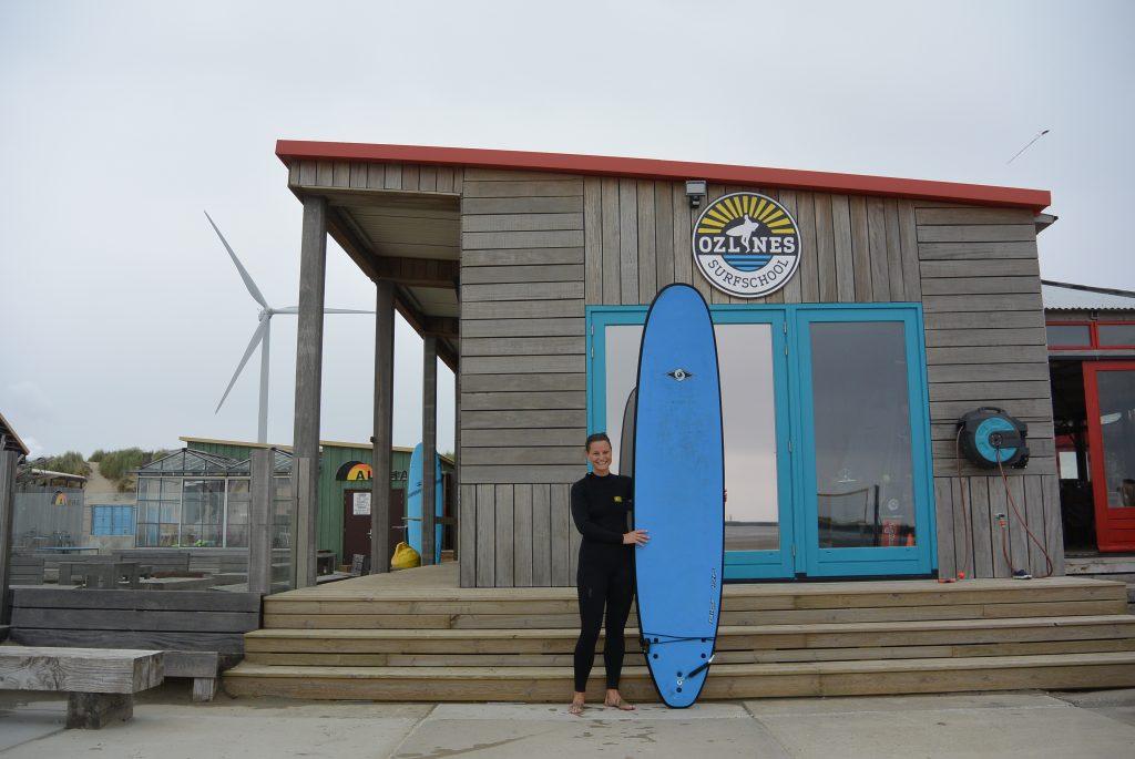 Surfen in Wijk aan Zee