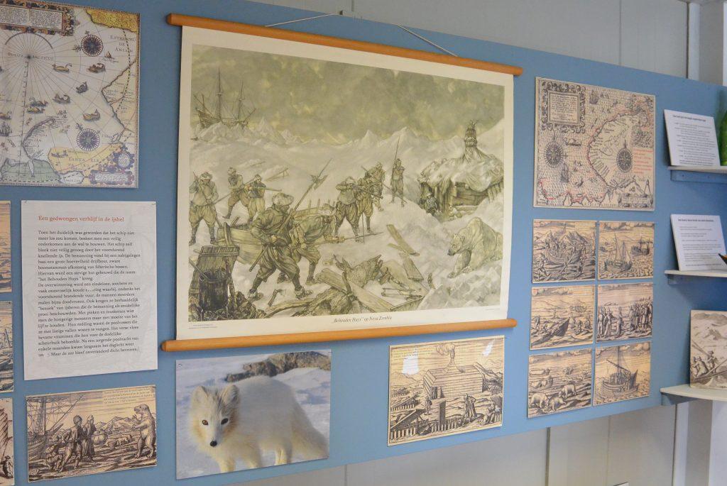 In het museum van de Barentszwerf