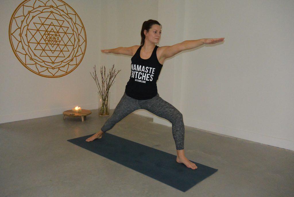Yoga kan gewoon onder werktijd. Namaste bitches!