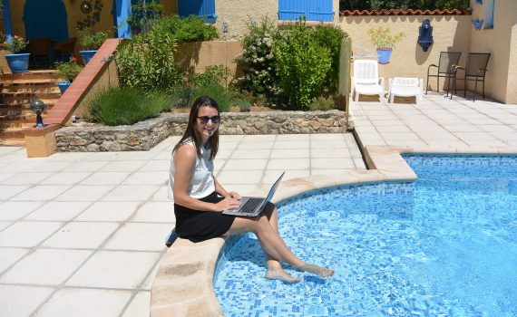 Digital nomad in de Provence