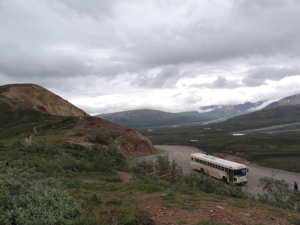 Onze bus in Denali NP