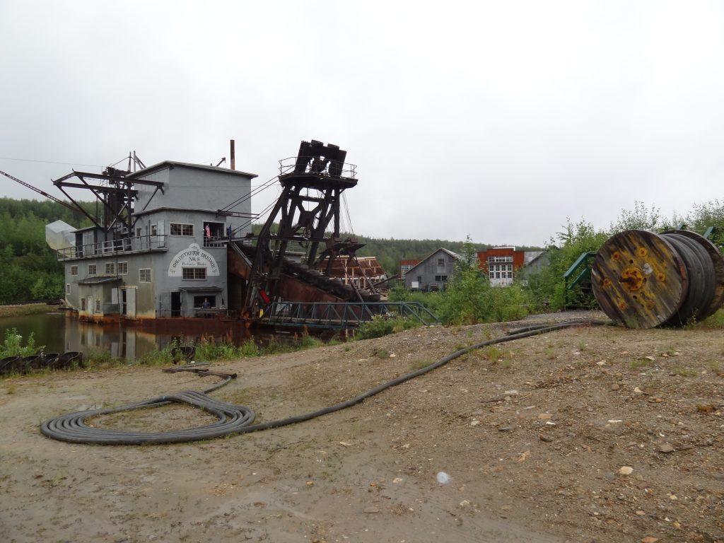 Goud zoeken door mining - Alaska