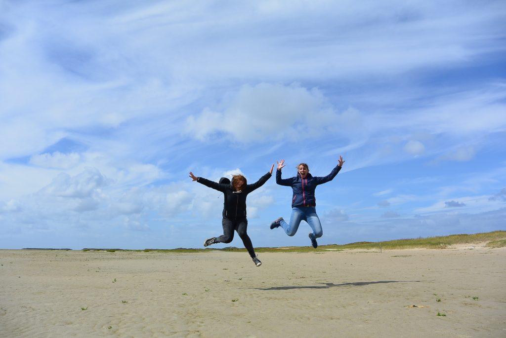 Prachtig wandelen vanaf De Walvis naar het strand van West-Terschelling