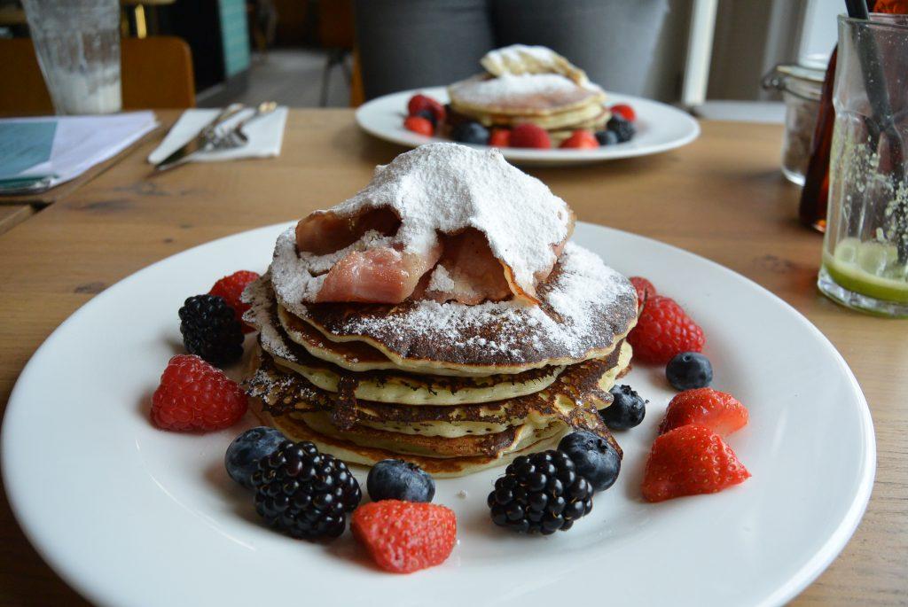 Pancakes @ The Breakfast Club