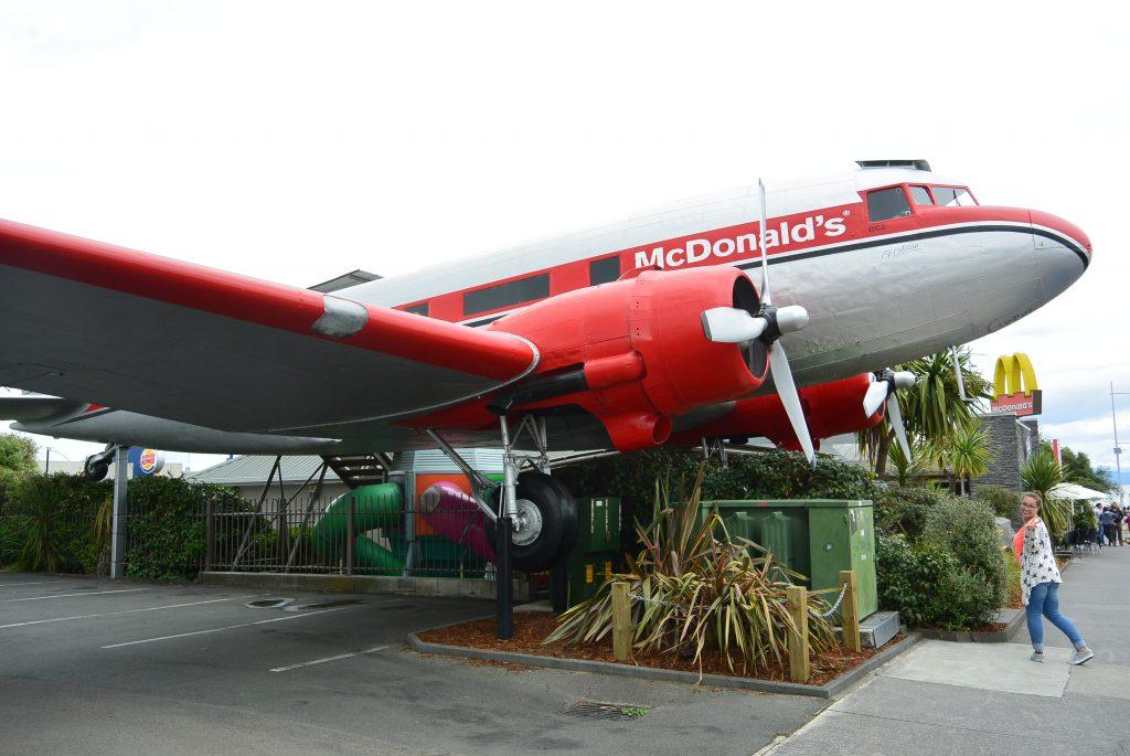 Vliegtuig Taupo Nieuw-Zeeland