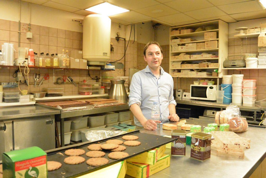 De derde generatie Hessing in de bakkerij