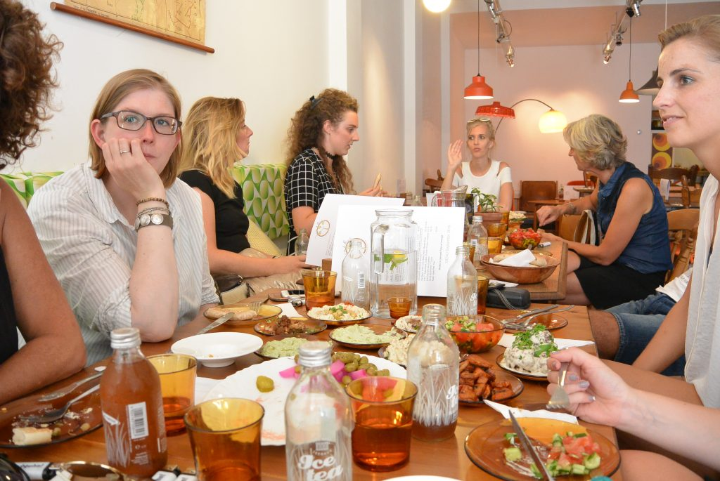 Shared dining met de bloggers!