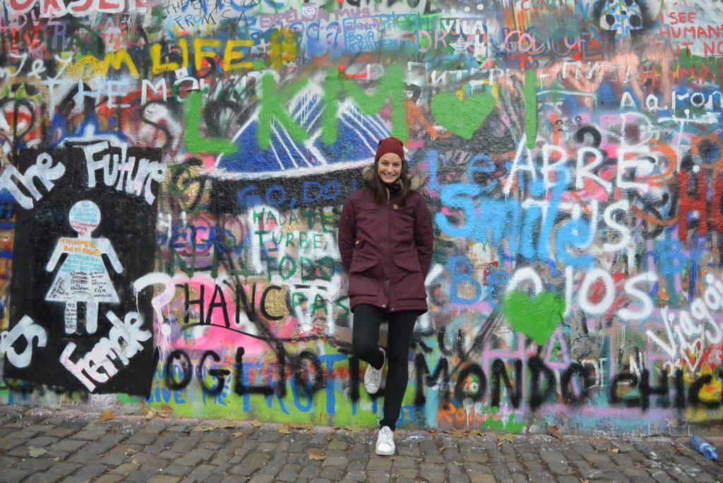 Lennon-wall, Praag