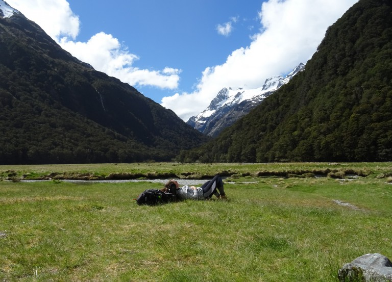 Hiking New Zealand