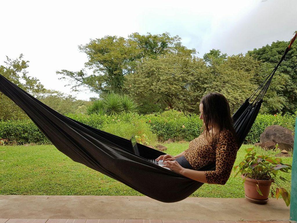 Digital nomad op Isla de Ometepe