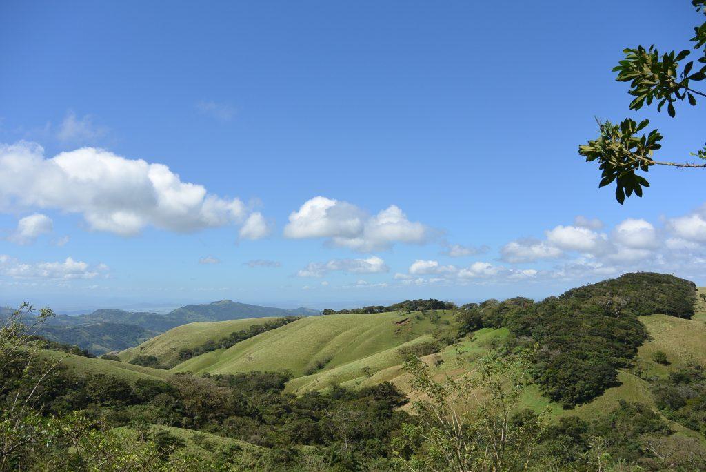 De bergen rondom Monteverde