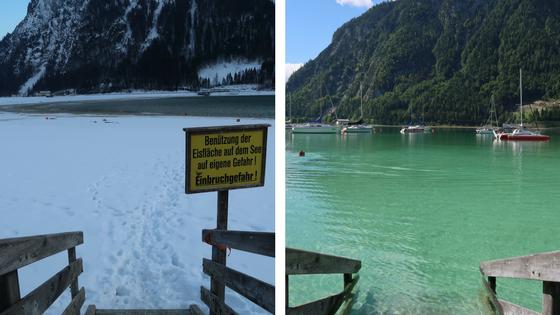 Achensee In Oostenrijk Wintersport Of Zomervakantie