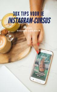30x Tips voor je Instagram-cursus