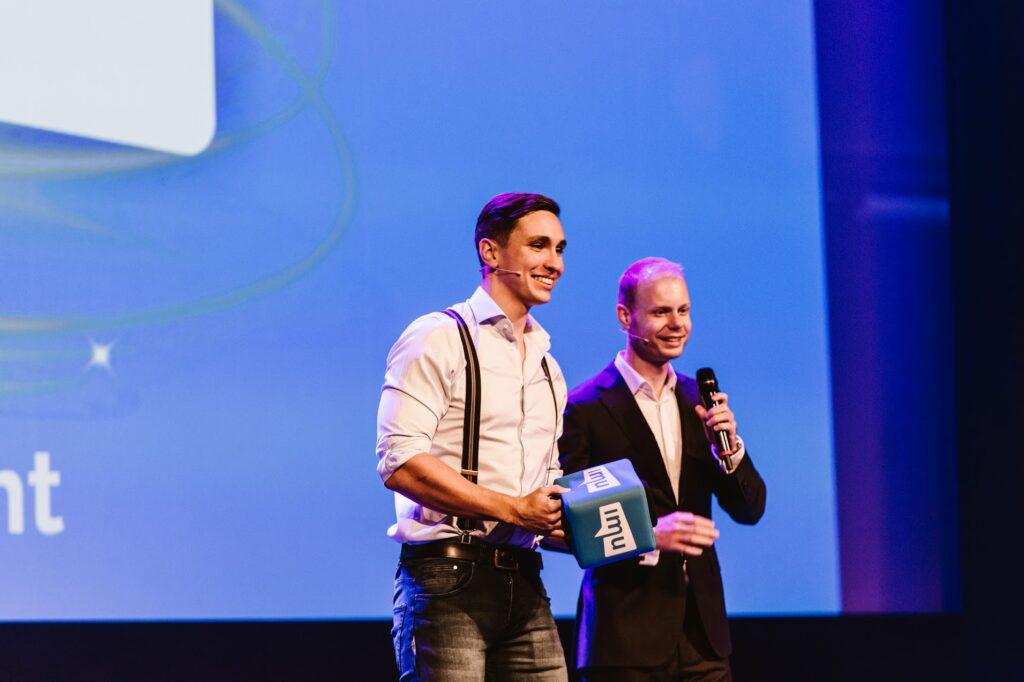 Martijn en Tonny van IMU